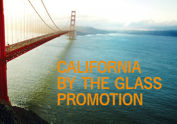 Wine & Story California by the Glass Promotion