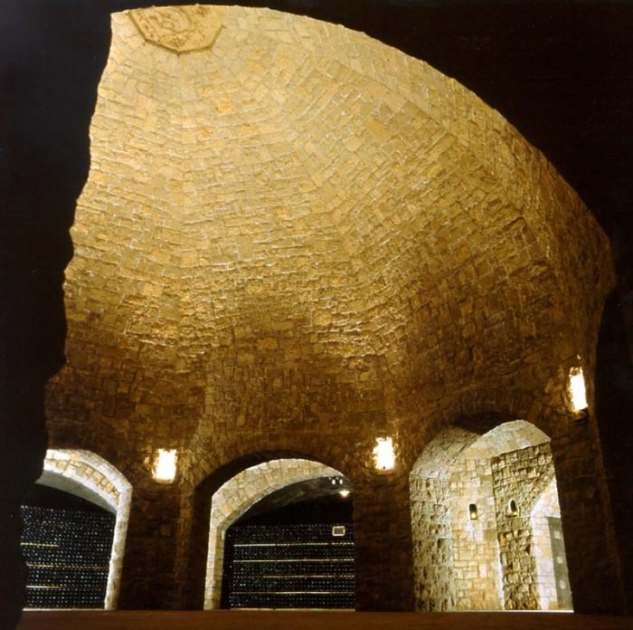 カ・デル・ボスコのシンボル、セラーのクーポラ