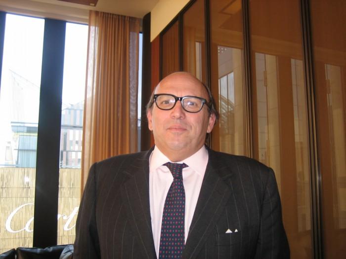 フランチャコルタの協会長も務めるマウリツィオ・ザネッラ氏