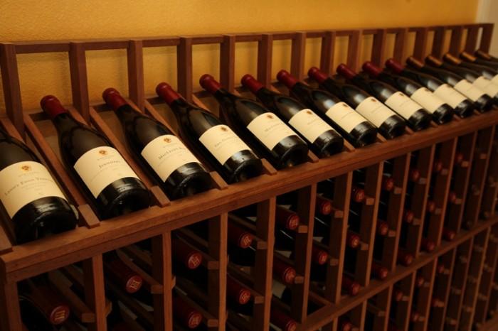 ずらりと並ぶ畑名付きのワインたち