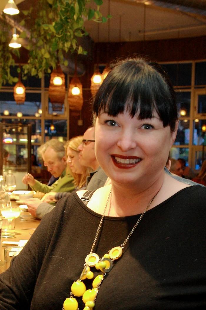 メリッサ・スミスさん。日本酒ソムリエの資格もある