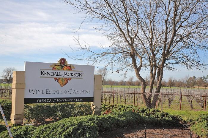 ソノマのワイン産業の中心地サンタ・ローザにケンダル・ジャックソンのワイン・センターはある