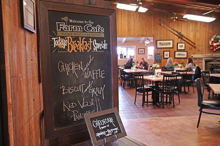 ワイナリーではカフェも併設していて、朝の7時半から営業、地元住民で賑わっている